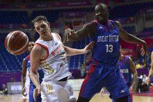 """""""Eurobasket 2017"""": rusai vargo mače su britais, kroatai triuškino čekus"""