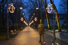 Palangos Kalėdų eglė šiais metais papuoš Grafų Tiškevičių alėją