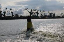Klaipėdos uostas treniravosi teikti prieglobstį