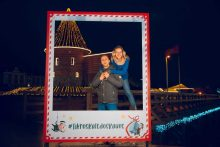 Kviečia įsiamžinti: Kauno centre – rėmeliai kalėdinėms nuotraukoms