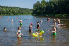 Pagal maudyklų vandens kokybę Lietuva – ES vidutiniokė