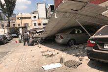 Stiprus žemės drebėjimas Meksikoje