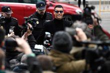 Futbolo žvaigždės C. Ronaldo teismo procesas