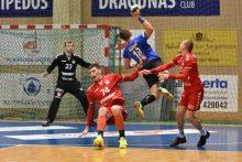 """""""Dragūno"""" rankininkai sužaidė lygiosiomis su Minsko klubu"""