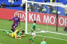 Europos čempionatas: Švedijos ir Airijos futbolininkai sužaidė lygiosiomis