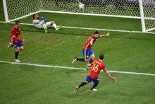 Europos futbolo čempionatas: Ispanijos rinktinė sutriuškino turkus
