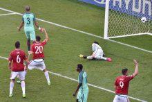 Neįtikėtinose Portugalijos - Vengrijos rungtynėse – šeši įvarčiai ir lygiosios