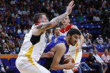 Izraelio krepšininkai išplėšė įspūdingą pergalę prieš vokiečius