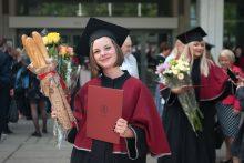 VDU diplomų įteikimas
