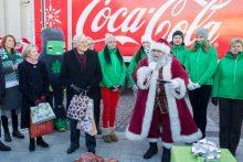 Kelionę po šalies mokyklas pradėjo Kalėdų karavanas
