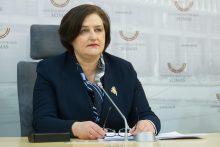 Seimo pirmininkės spaudos konferencija