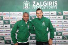 """FK """"Žalgirio"""" jubiliejinio sezono pristatymas"""