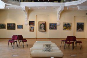Šį kartą Vilniaus aukciono ekspozicijoje daugiausia – tapybos darbų
