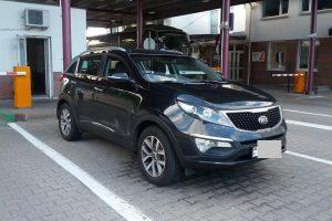 Baltarusis vairavo Rusijoje ieškomą automobilį