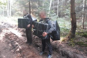 Belgų aviganiai padėjo sulaikyti du kontrabandininkus