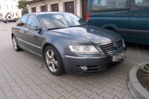 """Liuksemburge pavogtą """"Volkswagen"""" teko palikti pasieniečiams"""