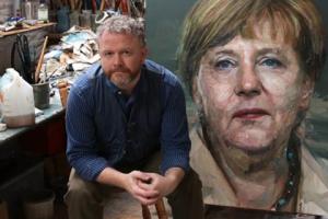 Milžiniškų portretų tapytojas atskleidžia slaptas žmonių savybes