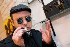 A. Mickevičius – apie meilę kvepalams ir laimės aromatų kūrimą