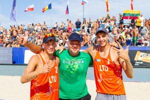 Lietuvos tinklininkai – Europos jaunimo čempionato prizininkai