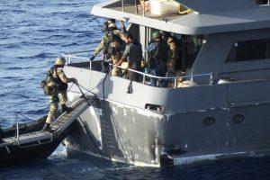 ES operacijoje Lietuvos kariai rado nelegaliai gabenamų ginklų