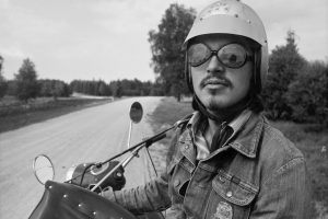 Galerijoje – aštuntojo dešimtmečio Lietuvos baikerių fotografijos