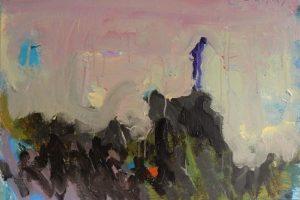 """Galerijoje """"Meno niša"""" – G. Jagmino peizažai su kaliošu"""