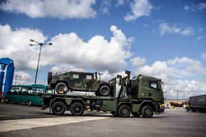 Prie NATO bataliono Lietuvoje prisidėjo Liuksemburgo kariai