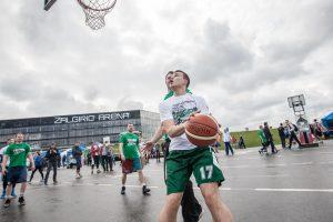 """Šalia """"Žalgirio"""" arenos – rekordinis turnyras"""