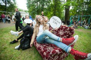 Jaunimas prikėlė Vytauto parką iš mirties