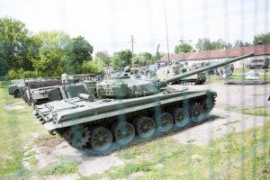 Pustrečio šimto karinės technikos eksponatų ateitis – miglota