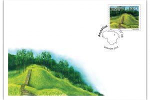 Pašto ženklas įamžins legendinį Šeimyniškėlių piliakalnį