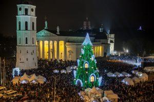 Šeštadienį Vilnius įžiebs pagrindinę Kalėdų eglę
