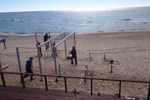 Pajūrio paplūdimiuose pradėjo dirbti gelbėtojai
