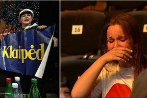To dar nebuvo: įsiutusi ir verkianti publika atsistojo ir paliko filmavimo aikštelę