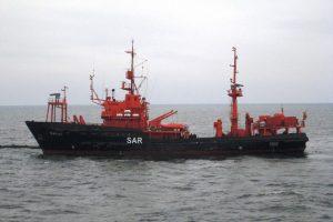 Vyko naftos taršos likvidavimo pratybos