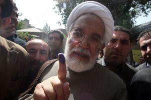 Po bado streiko Irano opozicijos lyderis išvežtas į ligoninę