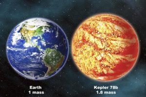 Astronomai atrado Žemės dydžio iš uolienų sudarytą egzoplanetą