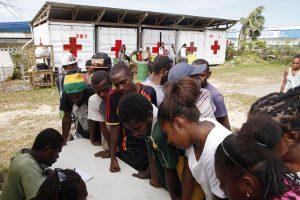 Vanuatu premjeras: ciklono aukų tikriausiai reikšmingai nebepadaugės