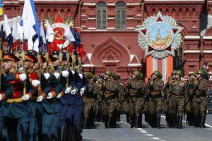 Lietuvos atstovų kariniame parade Maskvoje vėl nebus