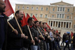 Graikijoje prasidėjo visuotinis streikas dėl pensijų reformos