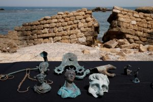 Izraelyje rastas imperatoriaus Konstantino laikų lobis