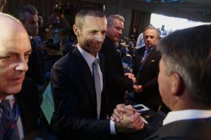 UEFA vadovu išrinktas Slovėnijos teisininkas