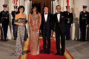 """B. Obama Italijos lyderiui surengė """"karčiai saldžius"""" valstybinius pietus"""