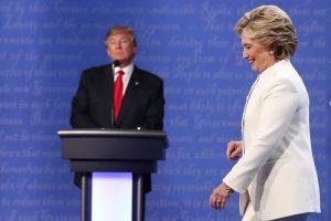 Paskutinieji H. Clinton ir D. Trumpo debatai: svarbiausi akcentai