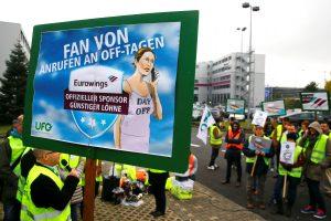 Vokietijos oro bendrovėms paskelbus streiką atšaukta 400 skrydžių