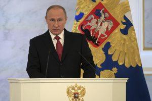 V. Putinas: mes niekada neieškojome priešų, mums reikia draugų