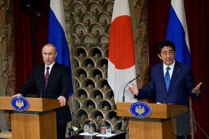 Rusijos ir Japonijos ginčas dėl Kurilų salų lieka neišspręstas
