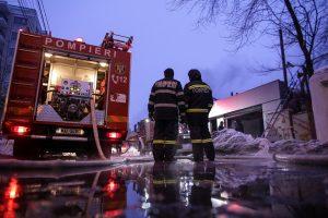 Bukarešto naktiniame klube kilus gaisrui hospitalizuotas 41 žmogus