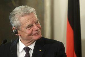 Vokietijos prezidentas ragina ES valstybes priešintis Rusijos dezinformacijai