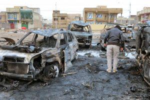 Sprogdinimo Bagdade aukų padaugėjo iki 59